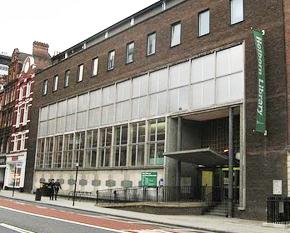Holborn Central Library, Camden, London