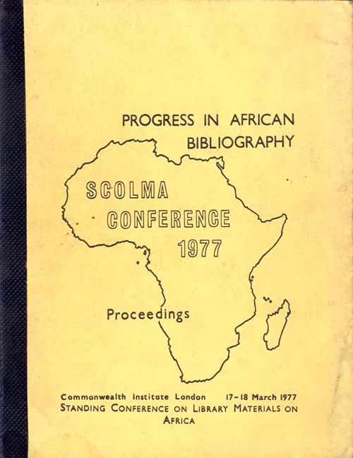 SCOLMA 1977 cover